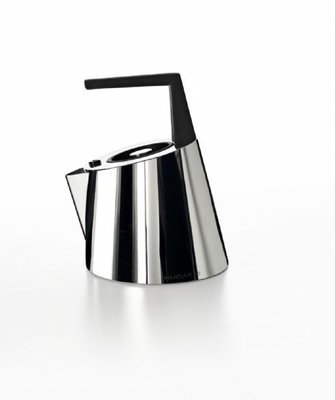 Via Roma 1.5 Qt. Stainless Steel Whistling Stovetop Kettle