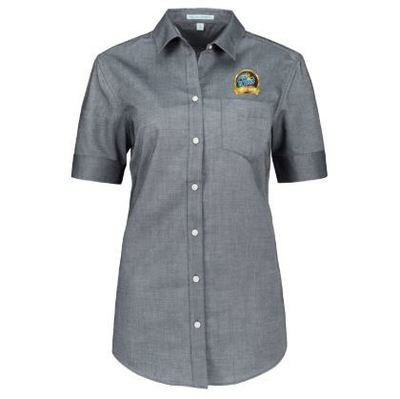 Women's Short Sleeve Oxford Shirt