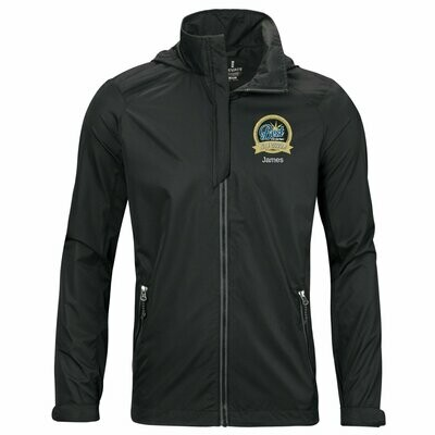 Men's Embroidered Lightweight Jacket