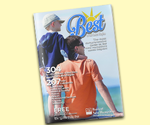 Best of Lakes Region Winner's Magazine | Half Page