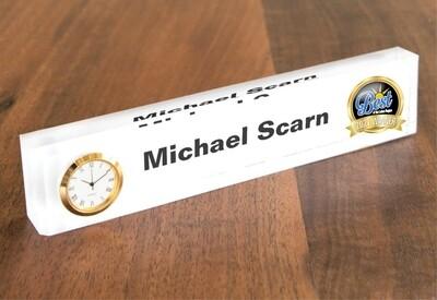 Acrylic Desk Nameplate