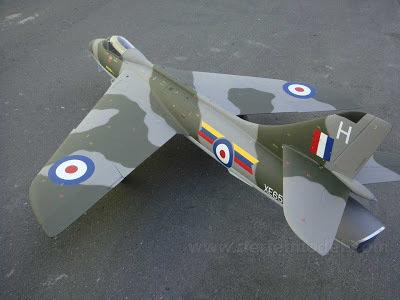 DerJet Hawker Hunter