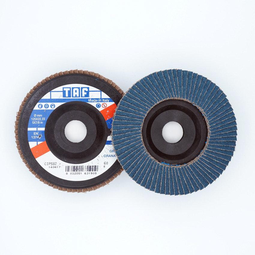 ø 125 x 22 mm  gerade/plate, TAF/VEZ51, 40 - 80