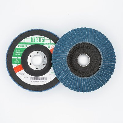 ø 125 x 22 mm  konisch/conique, TAF/VEZ52, 40 - 80