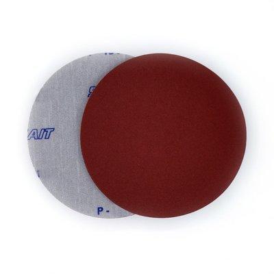 Klettscheibe Velcro, ø 150 o/Loch, Korn A 40 - 400 rot
