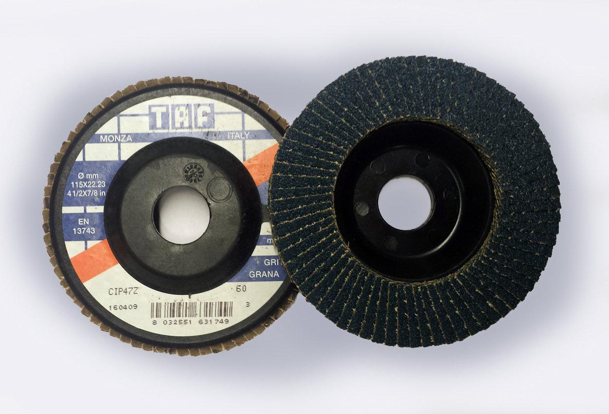 ø 115 x 22 mm  Kunststoffteller, gerade/plate, TAF/Z47, 40 - 80