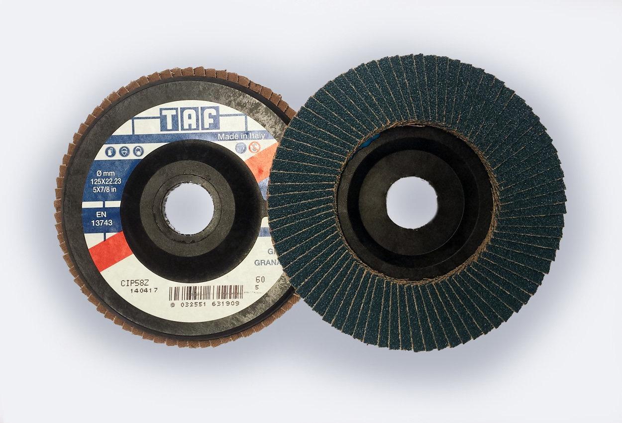 ø 125 x 22 mm  gerade/plate, TAF/Z58, 40