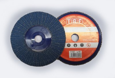 ø 165 x 22 mm  Fiberback gerade/ plate, TAF/Z114, 40