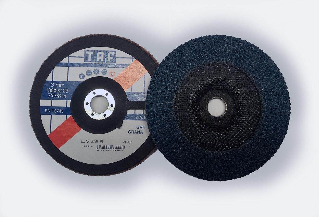 ø 178 x 22 mm  Fiberback, konisch/conique, TAF/LVZ69, 40