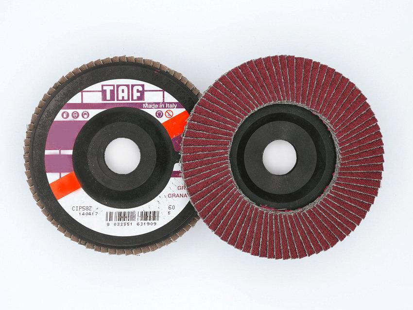 ø 178 x 22 mm  Fiberback, gerade/ plate, TAF/LVA65, 40 - 80