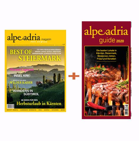 Kleine Zeitung Vorteilsclub - Alpe Adria Magazin & Alpe Adria Guide-Jahresabo Print