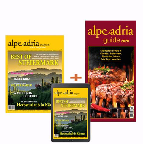 Alpe Adria Magazin Kombiabo Print und Digital