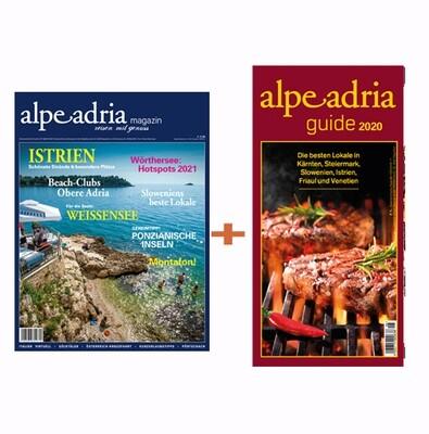 Alpe Adria Magazin Deutschland-Ausgabe & Alpe Adria Guide Jahresabo Print