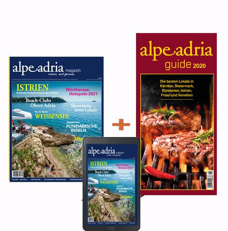Alpe Adria Magazin Dtl. Kombiabo Print und Digital
