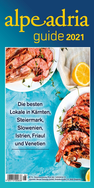 Alpe Adria Guide Printausgabe neu ab Juli 2021