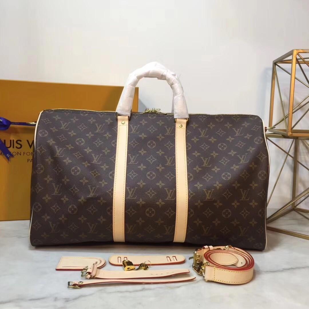 PRE ORDER 1:1 Louis Vuitton Keepall 50 Monogram - Travel bag