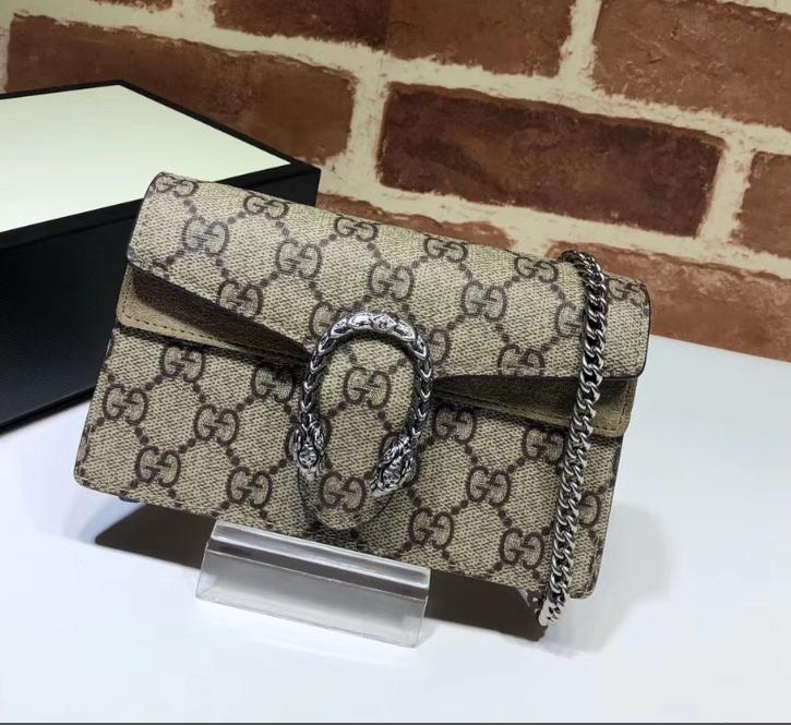 PRE ORDER - 1:1 Gucci Dionysus GG Supreme super mini bag