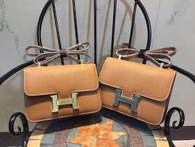 PRE ORDER -  Hermes Constance Bag 24CM Gold HW Chestnut