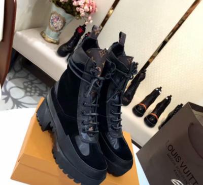 PRE ORDER - 1:1 Louis Vuitton Laureate Platform Dessert Boot 1A4FPY Size 8