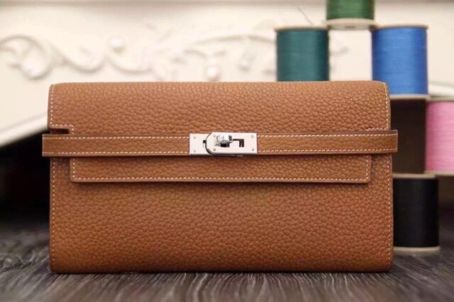 IN STOCK NOW - 1:1 Hermes Kelly Clutch / Wallet - Togo Leather