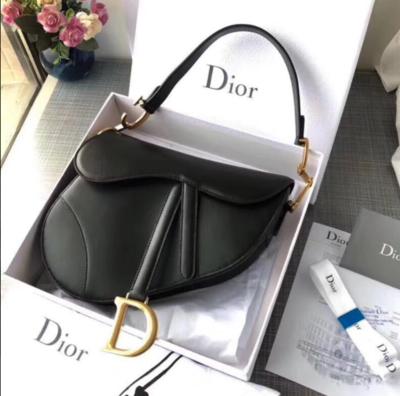 PRE ORDER- 1:1  Christian Dior Saddle Bag - Mini Black