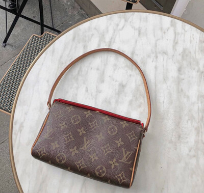 "IN STOCK NOW 1:1  Louis Vuitton ""Vintage"" Style LV Recital Bag - Monogram M51900"