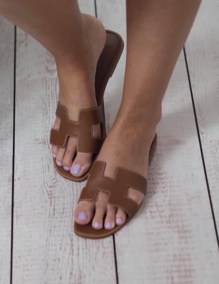 IN STOCK NOW 1:1 Hermes Oran Sandal SIZE 7 Women