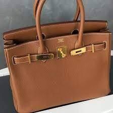 IN STOCK - Hermes Birkin 30cm Togo Leather -Brown / Gold HW