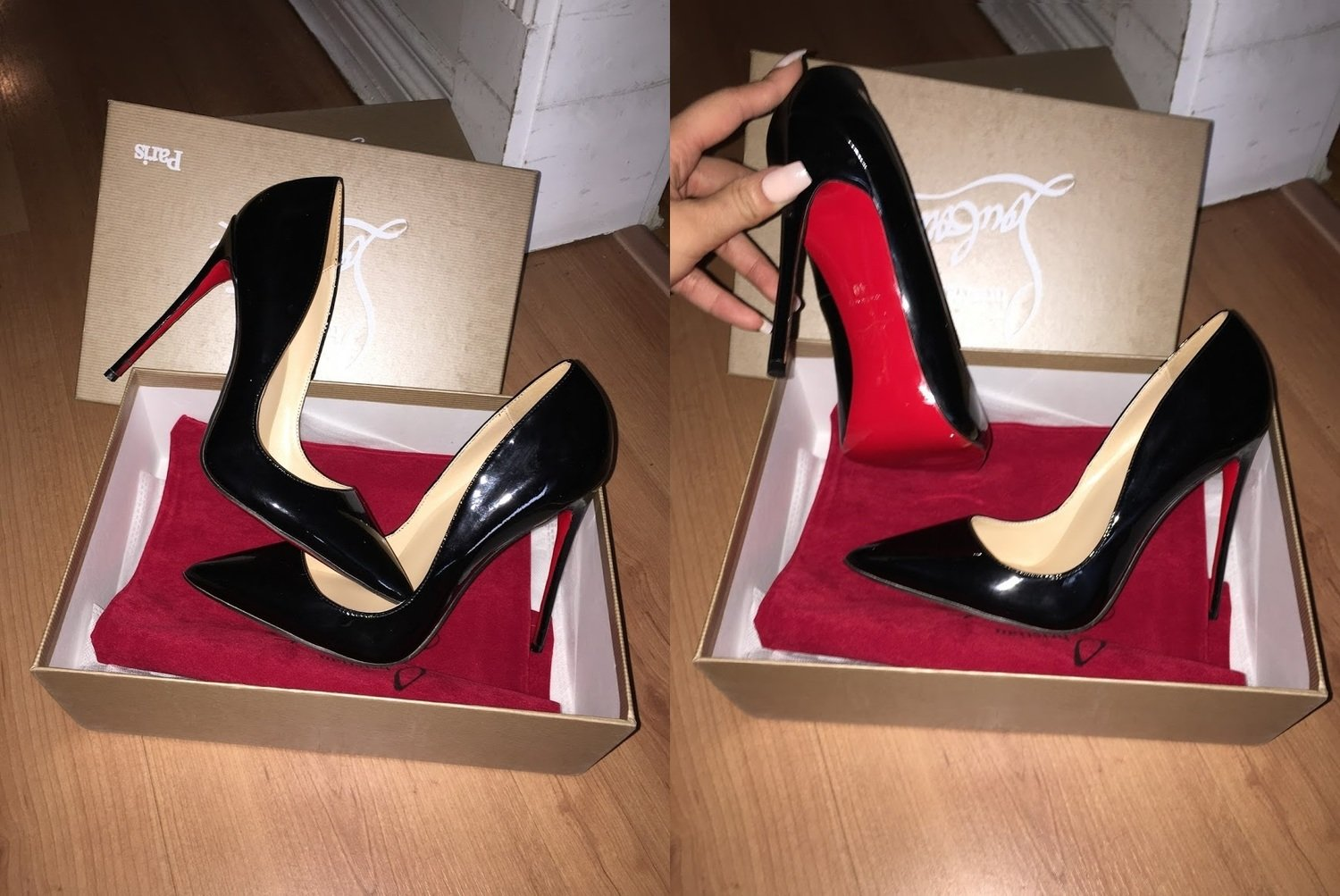 IN STOCK: Christian Louboutin Pigalle Follies 100mm 120mm