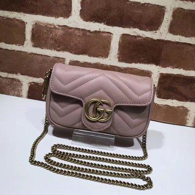 PRE ORDER 1:1 Gucci GG Marmont matelassé leather Super Mini Bag
