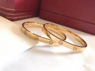IN STOCK -Cartier Bracelet - gold only