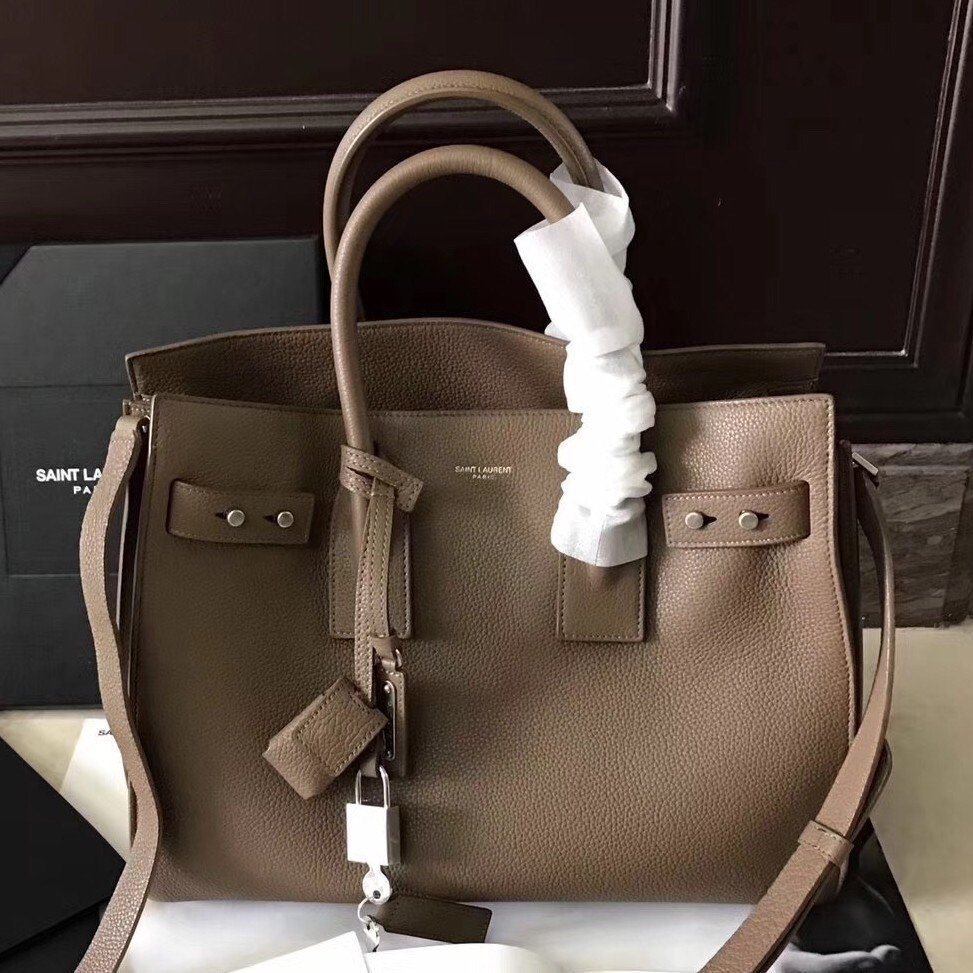 IN STOCK- 1:1 YSL Saint Laurent Small Sac de Jour Souple Bag - Grained Leather Small