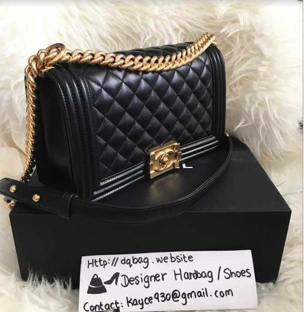PRE ORDER 1:1 Chanel Le Boy Bag - Lambskin / Shiney Gold Hardware