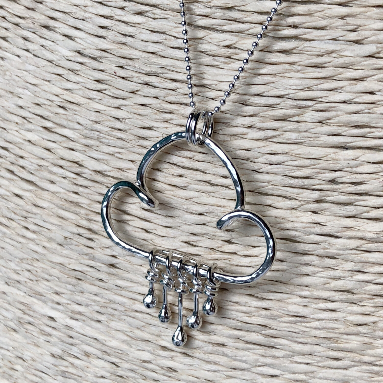 Droplets Rain Cloud Necklace