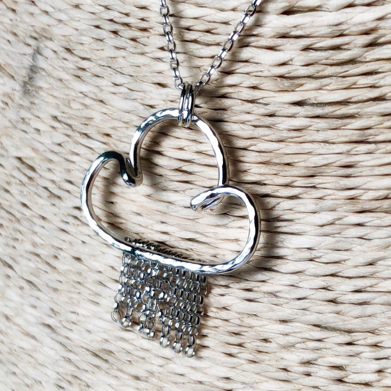 Chain Rain Cloud Necklace