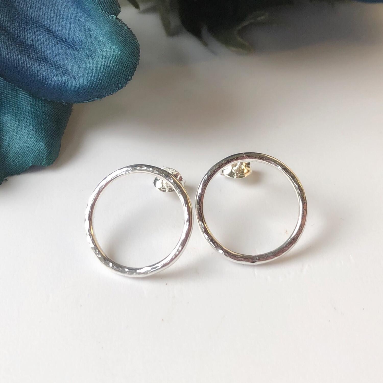 Circle Of Life Stud Earrings