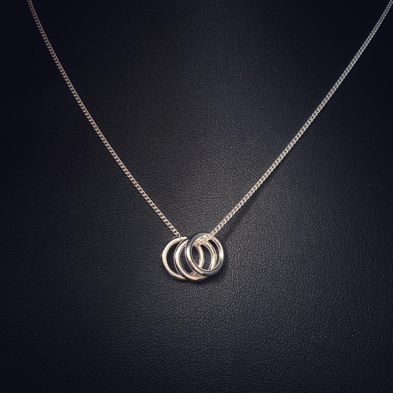 Triple Ring Pendant