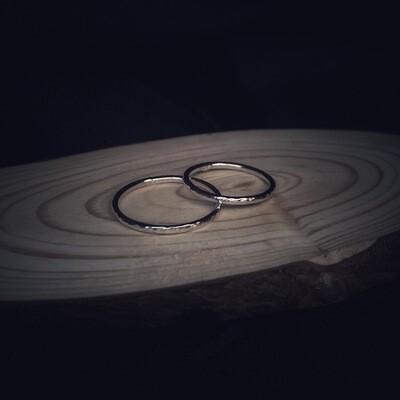 Halo Band Ring