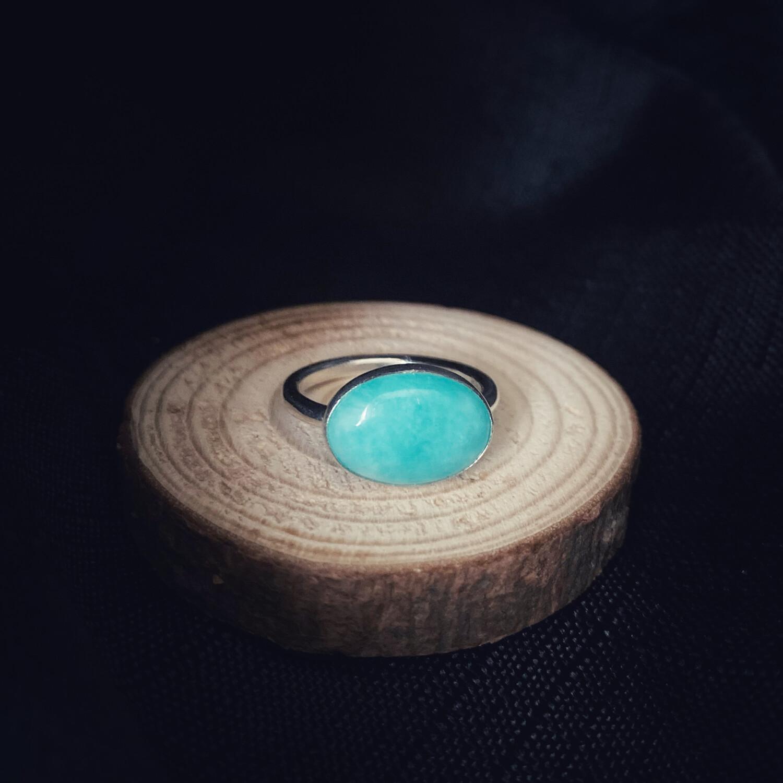 Oval Amazonite Ring