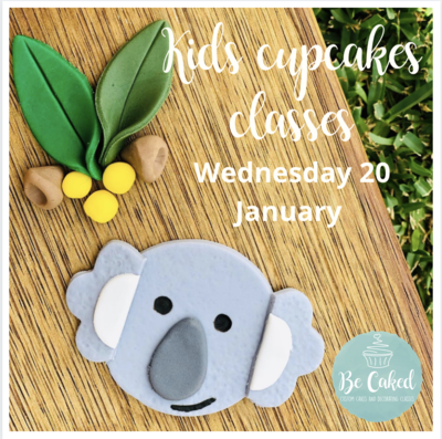 Australia Day - Kids Cupcake Classes (AM Class) 10am-12noon