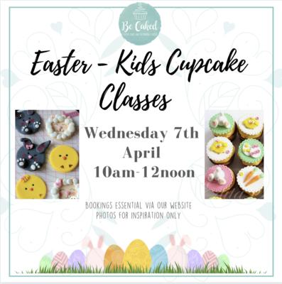 Easter - Kids Cupcake Classes (AM Class) 10am-12noon