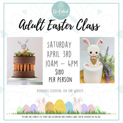 Adult Class - Easter Bunny and his carrots