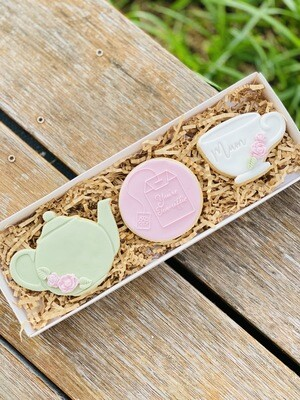 Mother's Day - Tea for One Cookie Gift Box (Pre Order)