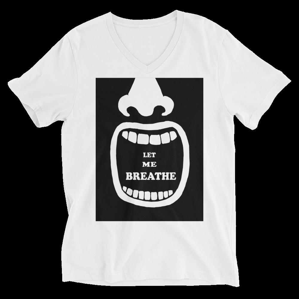 Let Me Breathe V-Neck T-Shirt