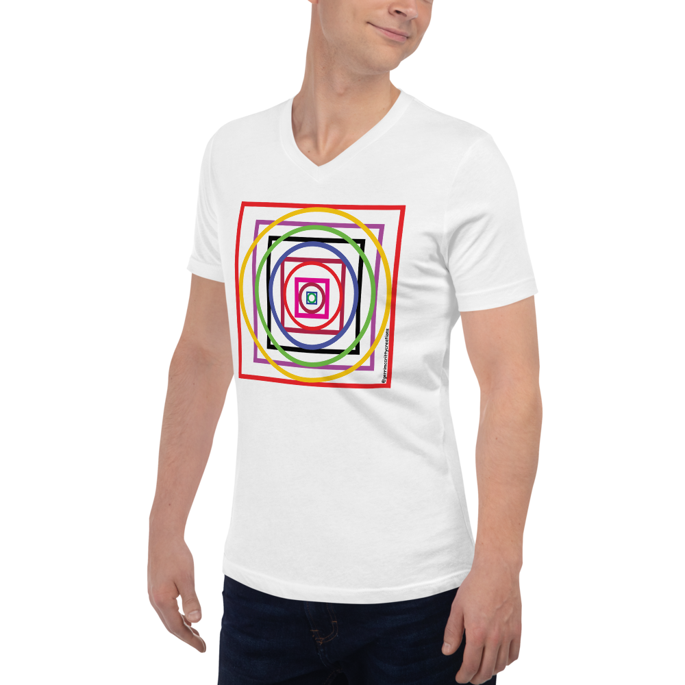 We R Here Unisex V-neck (without words)