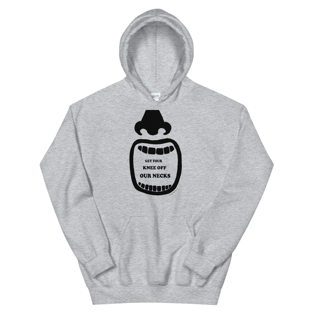 Get Your Knee of Our Necks Unisex Hoodie
