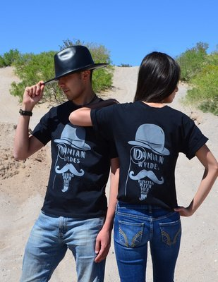 *COUPLES SPECIAL!!!* DAMIAN WYLDES DANCING WITH YOUR GHOST - BLACK/GRAY (2 TSHIRTS)