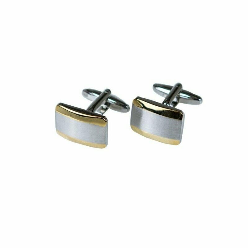 Cufflink silver/gold