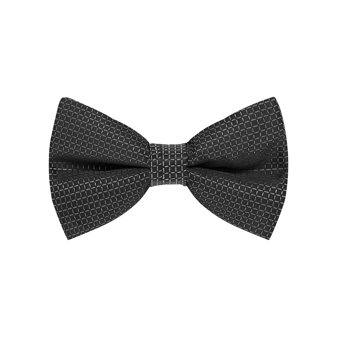 Bow Tie, Grid, Black