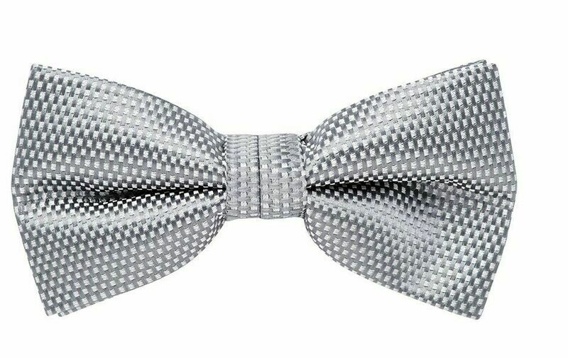 Bow Tie, Carbon, Grey